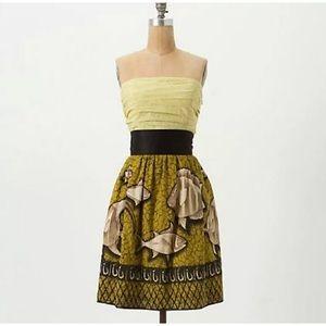 Vanessa Virginia Anthropologie Baxter Bay Dress